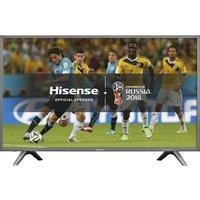 55 HISENSE H55N5700UK Smart 4K Ultra HD LED TV - Grey, Grey