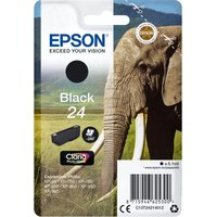 EPSON 24 Elephant Black Ink Cartridge, Black