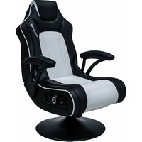 'X Rocker Torque 2.1 Wireless Gaming Chair - Black & White, Black