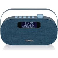 Click to view product details and reviews for Sandstrom Sf Daba18 Portable Dabﱓ Bluetooth Radio Blue Blue.