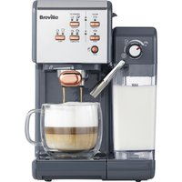 Breville One-touch Vcf109 Coffee Machine - Graphite Grey & Rose Gold, Graphite