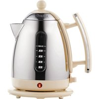 DUALIT 72413 Jug Kettle - Cream & Stainless Steel, Stainless Steel