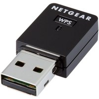 NETGEAR WNA3100M-100ENS USB Mini Wireless Adapter - N300, Single-band