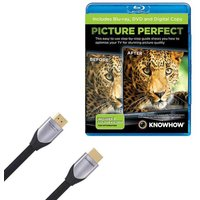 KNOWHOW Silver Series HDMI Cable with Picture Perfect, Silver