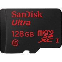 SANDISK Ultra Class 10 microSDHC Memory Card - 128 GB