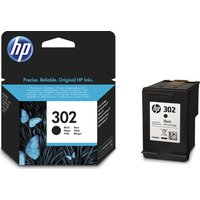 HP 302 Black Ink Cartridge, Black