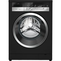 Grundig Gwn48430cb Washing Machine - Black, Black