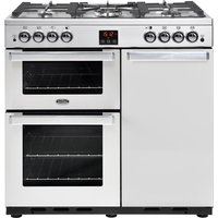 BELLING Gourmet 90G Professional Gas Range Cooker - Stainless Steel, Stainless Steel