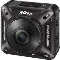 NIKON KeyMission 360 Action Camcorder - Black, Black