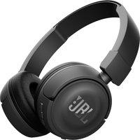 JBL T450BT Wireless Bluetooth Headphones - Black, Black
