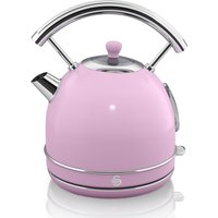 SWAN Retro SK34021PN Traditional Kettle - Pink, Pink