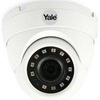 YALE SV-ADFX-W Smart Home CCTV Dome Full HD 1080p Outdoor Camera