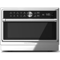 KITCHENAID KMQFX 33910 Combination Microwave - Silver and Black, Silver