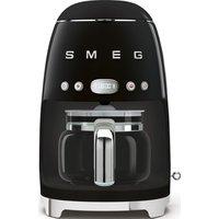 SMEG 50s Retro DCF02BLUK Filter Coffee Machine - Black, Black