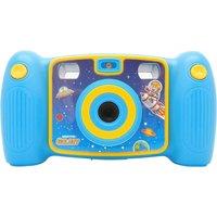 EASYPIX Kiddypix Galaxy Compact Camera - Blue & Yellow, Blue
