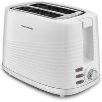 MORPHY RICHARDS Dune 220029 2-Slice Toaster - White, White