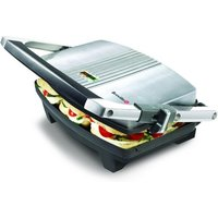 Buy BREVILLE VST025 Cafe-Style Sandwich Press - Brushed Stainless Steel, Stainless Steel - Currys PC World