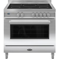 BRITANNIA Q Line 90 RC9SIQLS Electric Induction Range Cooker - Stainless Steel, Stainless Steel