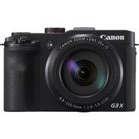CANON PowerShot G3 X Superzoom Compact Camera - Black, Black