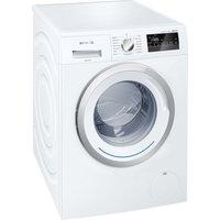SIEMENS iQ300 WM12N200GB Washing Machine - White, White