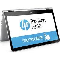 HP Pavilion x360 14-ba091sa 14 Touchscreen 2 in 1 - Silver, Silver