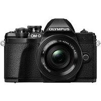 OLYMPUS OM-D E-M10 Mark III Mirrorless Camera with M.ZUIKO DIGITAL ED 14-42 mm f/3.5-5.6 EZ & ED 40-150 mm f sale image