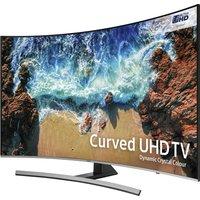 """55""""  SAMSUNG UE55NU8500 Smart 4K Ultra HD HDR Curved LED TV, Gold sale image"""