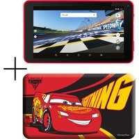 "ESTAR MID7388R-C 7"" Tablet & Case - 8 GB, Cars, Red"