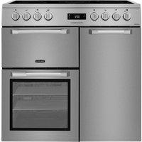 LEISURE Cuisinemaster Pro PR90C530X 90 cm Electric Ceramic Range Cooker - Stainless Steel, Stainless Steel