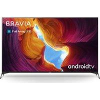 65 SONY BRAVIA KD-65XH9505BU Smart 4K Ultra HD HDR LED TV with Google Assistant.
