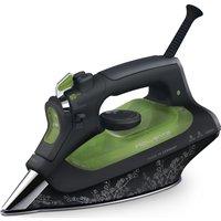 ROWENTA Rowenta Eco Intelu0026regigence DW6030 Steam Iron - Black & Green, Black