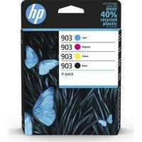 HP 903 Cyan, Magenta, Yellow & Black Ink Cartridges - Multipack, Cyan