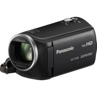 PANASONIC HC-V160EB-K Full HD Camcorder - Black, Black