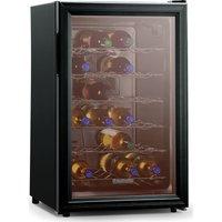 BAUMATIC BW28BL Wine Cooler - Black, Black