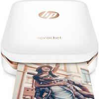 HP  Sprocket Mobile Photo Printer - White, White