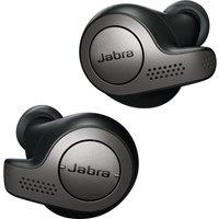 JABRA Elite 65t Wireless Bluetooth Headphones - Titanium Black, Titanium sale image