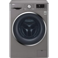 LG FH4U2TDN2S Smart 8 kg 1400 Spin Washing Machine - Graphite, Graphite