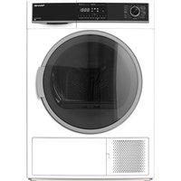 KD-HHH8S7GW2-EN 8 kg Heat Pump Tumble Dryer - White, White