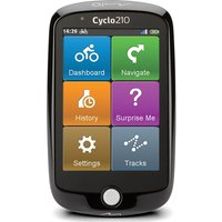 "Cyclo 210 Bike 3.5"" Sat Nav - Full Europe Maps"