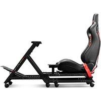 NEXT LEVEL Racing NLR-S009 GTtrack Simulator Cockpit Gaming Chair - Matt Black, Black