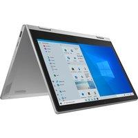 "Lenovo IdeaPad Flex 3i 11.6"" 2 in 1 Laptop - IntelPentium Silver, 64GB eMMC Silver"