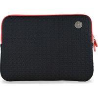 GOJI GSMBK1216 12 MacBook Sleeve - Black & Red, Black