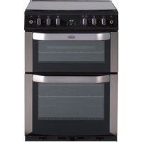 BELLING FSG 60 DOP STA 60 cm Gas Cooker - Stainless Steel, Stainless Steel