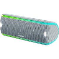 Image of SONY SRS-XB31 Portable Bluetooth Wireless Speaker - White, White