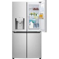 LG GMJ936NSHV Smart Fridge Freezer - Steel