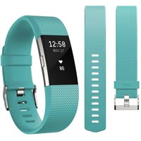 FITBIT Charge 2 & Band Bundle - Teal, Large & Small, Teal