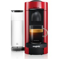 NESPRESSO by Magimix VertuoPlus M600 Coffee Machine - Piano Red, Red.