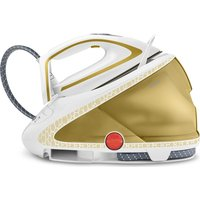 TEFAL Pro Express Ultimate GV9581 Steam Generator Iron - White and Gold, White
