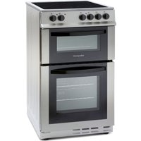 MONTPELLIER MDC500FS 50 cm Electric Ceramic Cooker - Silver, Silver