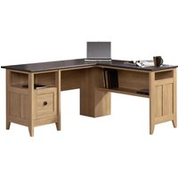TEKNIK Home Study L-shaped Office Desk - Slate.